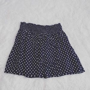 4/$25 ✨ Maurices | Navy Dotted Skirt | Sz S